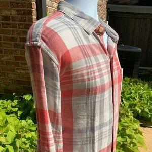 Tommy Bahama Mens Monteverde Plaid Flannel Shirt